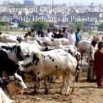 Federal Government Officially Announces Eid-ul-Adha 2016