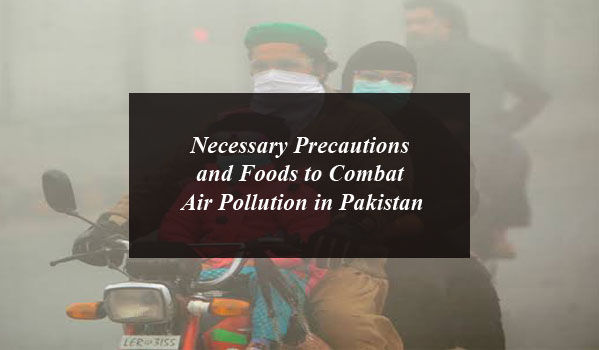 Necessary Precautions and Foods to Combat Air Pollution in Pakistan