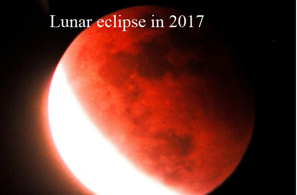 First Lunar Eclipse (Chand Grahan) 2017 in Pakistan