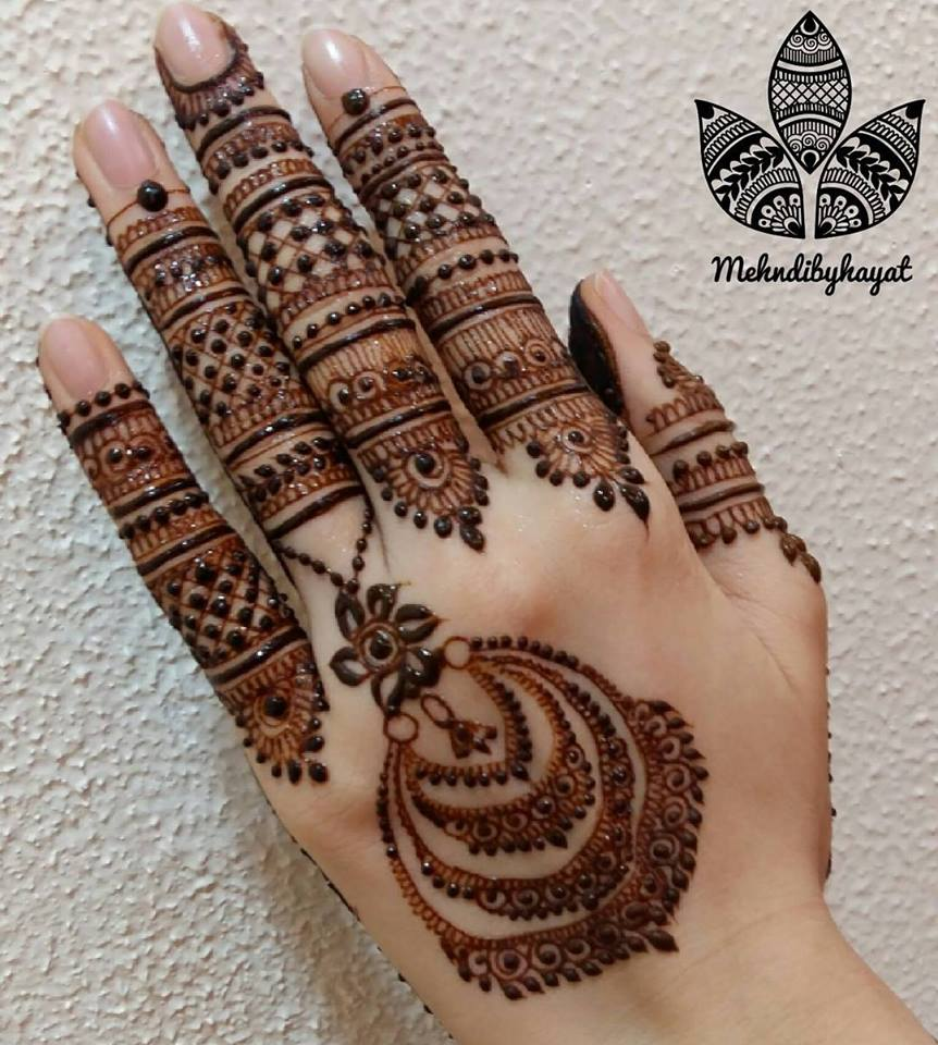 Latest Mehndi Designs: Latest Mehndi Designs For Eid 2018: Hands And Feet