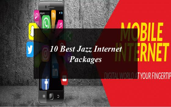 10 Best Jazz Internet Packages
