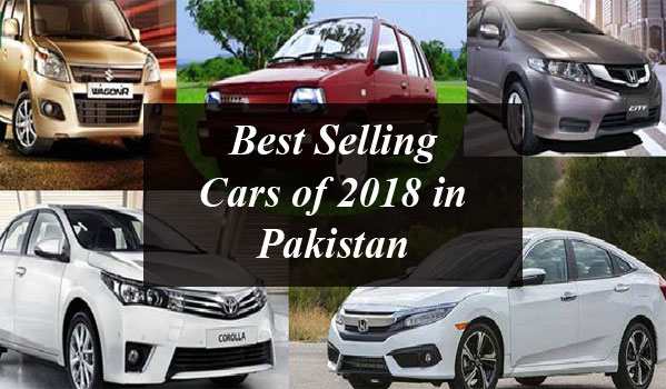 Best Selling Cars of 2018 in Pakistan