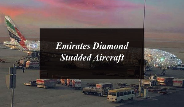 Emirates Diamond Studded Aircraft Picture Is Just Breathtaking