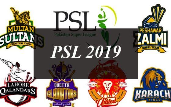 PSL 2019 Will Kick Off On 14th February in Dubai
