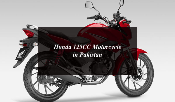 A New Honda 125CC Motorcycle on its Way to Pakistan