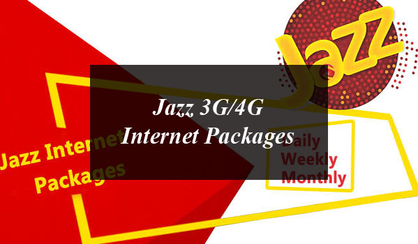 Jazz Internet Packages 2020: Daily, Weekly & Monthly For Prepaid and Postpaid Customers [Updated]