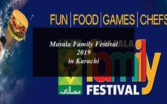 Masala Family Festival 2019 to Kick Off in Karachi Expo Centre