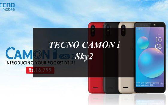 TECNO CAMON i Sky2 Launched: First Ever Triple AI Camera Budget Phone