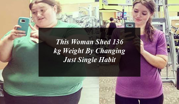 This Woman Shed 136 kg Weight By Changing Just Single Habit