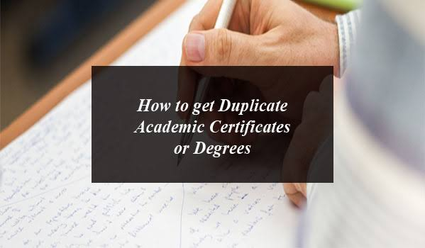 Duplicate Academic Certificates or Degrees in Pakistan