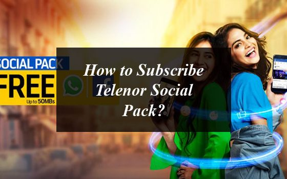 How to Subscribe Telenor Social Pack?