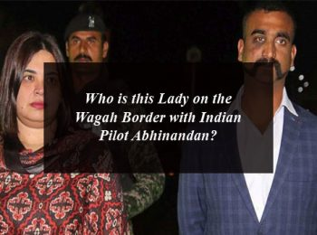 Who is this Lady on the Wagah Border with Indian Pilot Abhinandan?