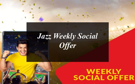 How to Get Jazz Weekly Social Offer?