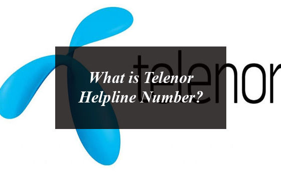 What is Telenor Helpline Number?