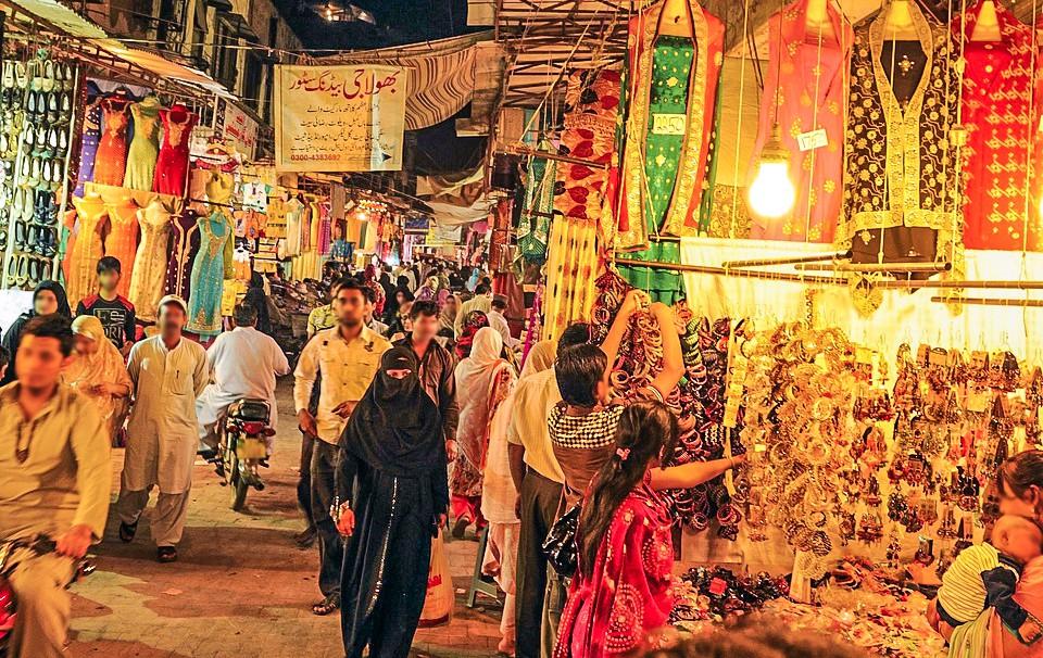 Anarkali Bazaar and Liberty Market