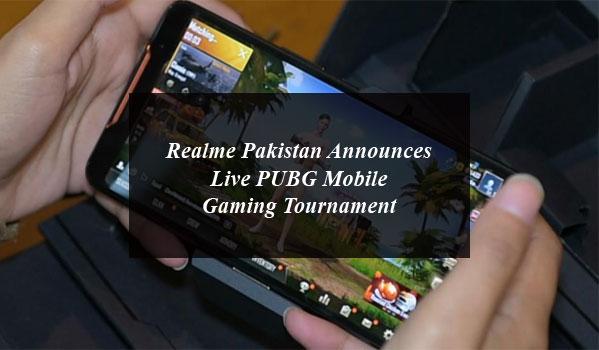 Realme Pakistan Announces Live PUBG Mobile Gaming Tournament