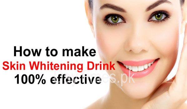 Homemade Full Body whitening Drinks