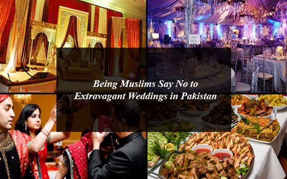 Being Muslims Say No to Extravagant Weddings in Pakistan