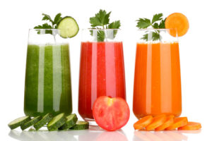 Healthy Weight Loss with Fruits and Vegetables Juices