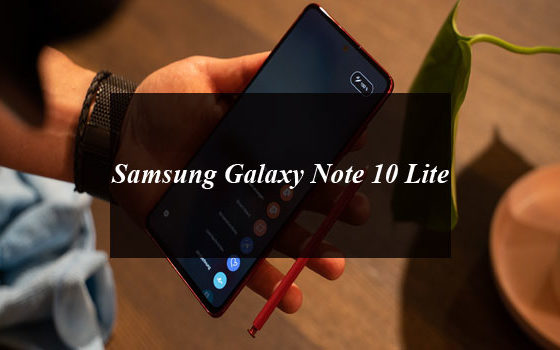Samsung Galaxy Note 10 Lite Price in Pakistan and Full Specifications