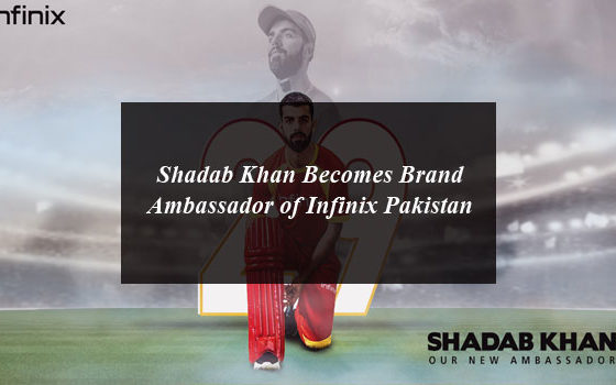 Shadab Khan Becomes Brand Ambassador of Infinix Pakistan