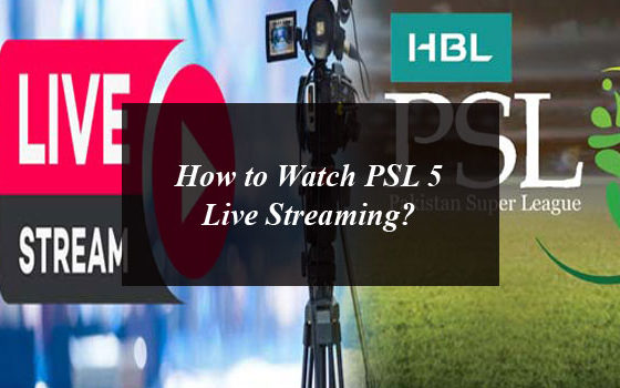 How to Watch PSL 5 Live Streaming From Anywhere Around the World?