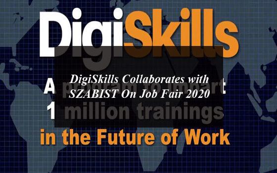 DigiSkills collaborates with SZABIST On Job Fair 2020