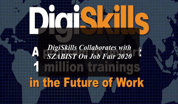 DigiSkills collaborates with SZABIST On Job Fair 2020