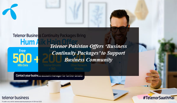 Telenor Business Continuity Packages