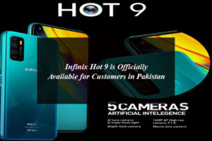 Infinix Hot 9 is Officially Available for Customers in Pakistan