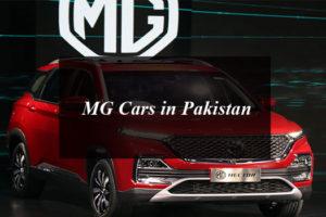 MG Cars in Pakistan