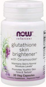 Now Foods Glutathione Skin Whitening Pills