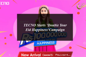 TECNO Starts 'Double Your Eid Happiness'Campaign