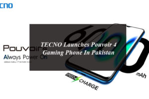 TECNO Launches Pouvoir 4 Gaming Phone In Pakistan