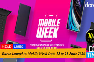 Daraz Launches Mobile Week from 15 to 21 June 2020