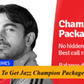 How to get Jazz Champion Package?