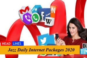 Jazz Daily Internet Packages 2020