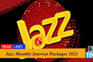 Jazz Monthly Internet Packages 2021