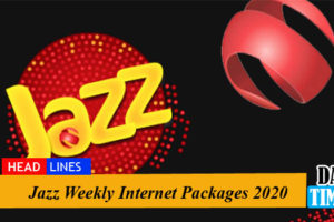 Jazz Weekly Internet Packages 2020