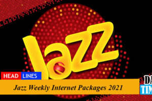 Jazz Weekly Internet Packages 2021