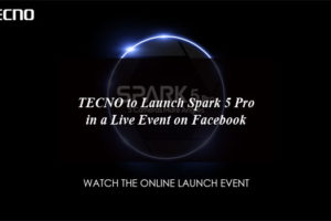 TECNO to Launch Spark 5 Pro in a Live Event on Facebook
