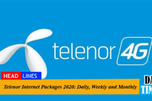 Telenor Internet Packages 2020: Daily, Weekly and Monthly For Prepaid and Postpaid Users [Updated]