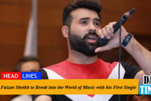 Faizan Sheikh to Break into the World of Music with his First Single