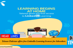 Telenor Pakistan offers free LinkedIn Learning licenses for Jobseekers