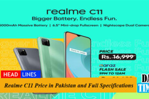 Realme C11 Price in Pakistan and Full Specifications