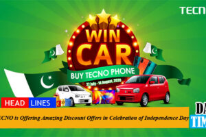 TECNO is Offering Amazing Discount Offers in Celebration of Independence Day