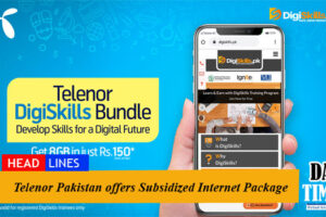 Telenor Pakistan offers Subsidized Internet Packages For the Students of DigiSkills Program