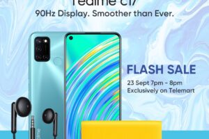 Realme C17 Smartphone To Be Launched Online on Sep 23 Followed by Telemart Flash Sale
