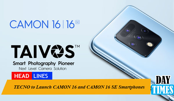TECNO to Launch CAMON 16 and CAMON 16 SE Smartphones