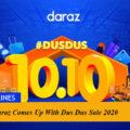 Daraz Comes Up With Dus Dus Sale 2020